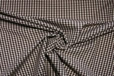 "1/8"" Gingham Poly/Cotton - Espresso"