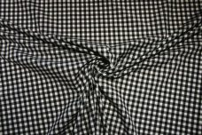 "1/4"" Gingham Poly/Cotton - Black"
