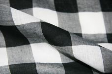 "1.5"" Buffalo Plaid Batiste - Black"