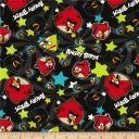 Angry Birds Cotton - Black