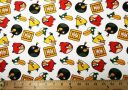Angry Birds Cotton - White