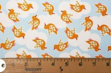 Mango Gingham Birds