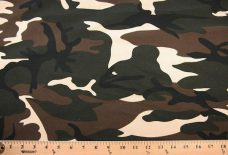 Large Army Green Camo Cotton