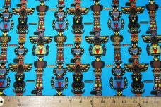 Totems Cotton - Turquoise