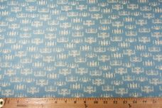 Chandeliers Cotton - Dusty Turquoise