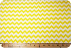 Yellow Chevron Cotton