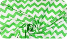 Shamrock Chevron Cotton