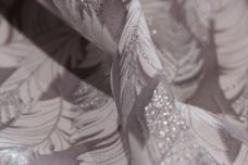 Glittered Feathers Cotton