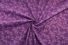 Purple Butterflies Cotton