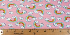 Pink Rainbows Cotton