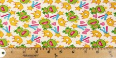 Fantasy Frogs Cotton