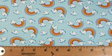 Blue Rainbows Cotton