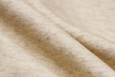 Heathered Ivory Cotton French Terry