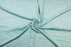 Lightweight Rayon/Poly French Terry - Heathered Aqua