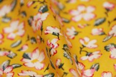Delicate Floral Cotton - Sunshine