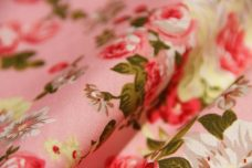 Vintage Floral Cotton - Peony