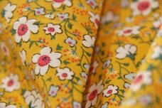 30's Floral Cotton - Sunshine