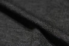 Lightweight Rayon/Poly French Terry - Black