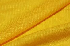 Ribbed Tissue Jersey - Yellow