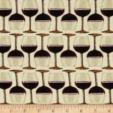 Wine Glasses Cotton