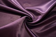 Bridal Satin - Plum