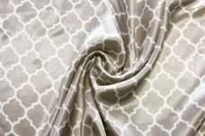 Satin Lattice - Silver