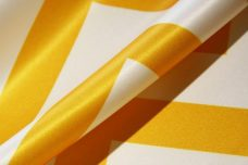 Bridal Satin Chevron - Sunflower