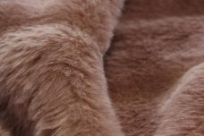Pelted Mink Fur - Taupe