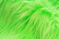 Shag Fur - Neon Green