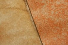 Suede Backed Beaver - Marbled Wheat & Orange