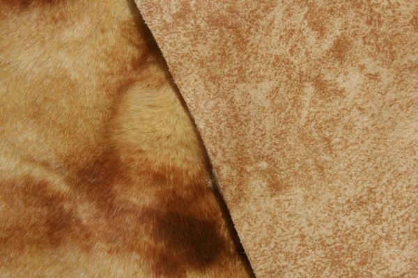 Suede Backed Beaver - Marbled Wheat & Copper