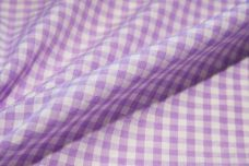 """1/8"""" Gingham Poly/Cotton - Lavender"""