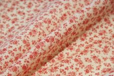 Small Red Floral Batiste