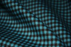 "1/8"" Gingham Twill - Teal"