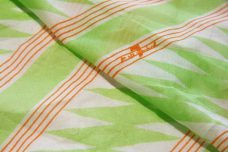 """7 for all mankind"" Lime Lightning Stripe Batiste Panel"