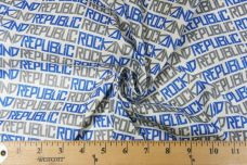 "Royal ""Rock & Republic"" Lightweight Cotton/Poly Muslin"