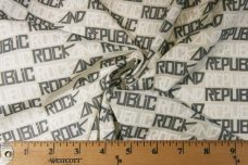"Ash ""Rock & Republic"" Lightweight Cotton/Poly Muslin"