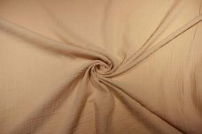 Cotton Double Gauze - Tan