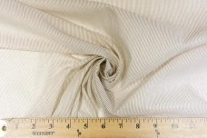 Micro Pinstripe Voile - Camel